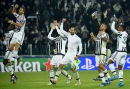 """Čempionų lyga: B grupėje lieka intriga, į kitą etapą žengė """"Juventus"""" ir PSG (VIDEO)"""