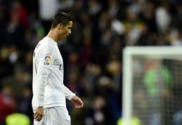"""Dėl C. Ronaldo parašo kovos """"Man United"""" ir PSG"""