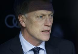 """D. Moyesas: Dėl """"Real Sociedad"""" klubo atmečiau kitų ekipų pasiūlymus"""