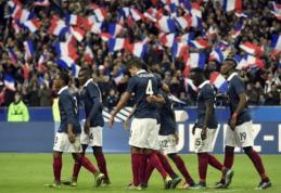 Londonas laikys egzaminą: Prancūzijos ir Anglijos rinktinių rungtynės įvyks