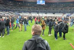 Futbolo pasaulis sukrėstas įvykiais Paryžiuje