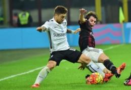 """Italijoje - """"Bologna"""" pergalė prieš """"Hellas"""" bei """"Milan"""" ir """"Atalanta"""" lygiosios (VIDEO)"""
