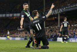 """""""Stoke City"""" ir """"Tottenham"""" išplėšė dramatiškas pergales išvykoje (VIDEO)"""