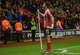 """""""Southampton"""" savų sirgalių akivaizdoje sudaužė beviltišką """"Arsenal"""" (VIDEO)"""