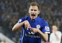 """M. Albrightonas: """"Leicester"""" neįsivaizduoja savęs pralaiminčių"""