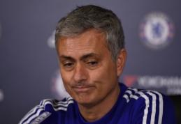 J. Mourinho: buvau išduotas savo komandos žaidėjų