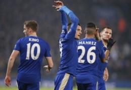 """Nesustabdomas """"Premier"""" lygos duetas atvedė """"Leicester"""" į pergalę rungtynėse su """"Chelsea"""" (VIDEO)"""