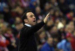 """Permainos """"Espanyol"""" klube - atleistas vyriausiasis treneris"""