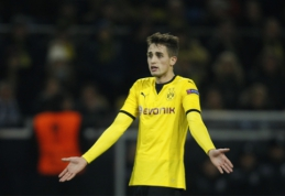 Tirpsta A. Januzajaus galimybės įsitvirtinti Dortmunde