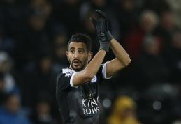 """R. Mahrezas: nemanau, kad """"Leicester City"""" gali laimėti """"Premier"""" lygą"""