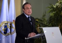 """F. Perezas netiki, kad """"Real"""" sulauks sankcijų: mes nebuvome informuoti"""