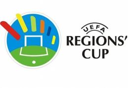 Lietuvoje 2016 m. įvyks UEFA Regionų taurės atrankos turnyras