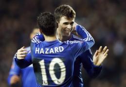 "FA taurė: ""Everton"" ir ""Chelsea"" be vargo žengė tolyn (VIDEO)"
