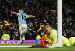 """""""Man City"""" prasibrovė į Anglijos lygos taurės finalą (VIDEO)"""