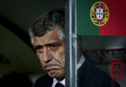 "F. Santosas: Portugalija žais ""Euro 2016"" finale"