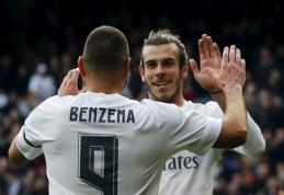 K. Benzema ir G. Bale'as patyrė traumas