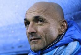"""L. Spalletti grįžta prie """"Roma"""" trenerio vairo"""