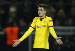 """T. Tuchelis: A. Januzajus neparodė noro žaisti už """"Borussia"""""""