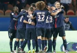 Gynėjų įvarčiai atnešė eilinę pergalę PSG klubui (VIDEO)