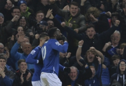 """Anglijos lygos taurės pusfinalyje """"Everton"""" pranoko """"Man City"""" (VIDEO)"""
