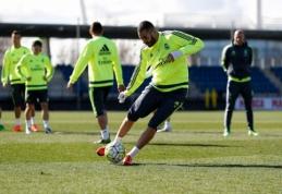 K. Benzema grįžo į treniruotes ir galės žaisti Madrido derbyje