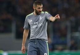 """Real"" į Malagą išvyko be K. Benzema"