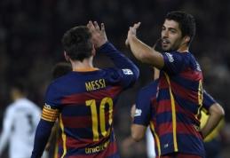 """Į Valensiją """"Barcelona"""" atvyksta be lyderių"""