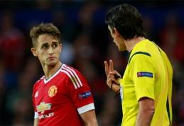 """Rungtyniaudamas """"United"""" jaunimo ekipoje A. Januzajus patyrė traumą"""