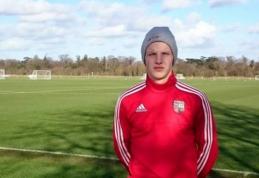 """""""Brentford"""" klubo peržiūroje savo vertę įrodinėjo 15-metis lietuvis N. Petkevičius"""