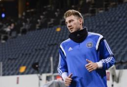 """""""Wolfsburg"""" N. Bendtneris nebereikalingas - žaidėjui leista nedalyvauti treniruotėse"""