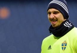Švedų treniruotėje - Z.Ibrahimovičiaus šou (VIDEO)