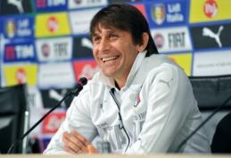"""A. Conte gandų apie """"Chelsea"""" komentuoti nepanoro"""