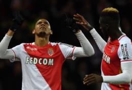 """PSG antrąjį pralaimėjimą patyrė prieš """"Monaco"""", """"Nice"""" įveikė """"GFC Ajaccio"""" (VIDEO)"""