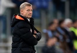 """""""Sparta"""" treneris: pergalė prieš """"Lazio"""" - geriausias momentas mano karjeroje"""