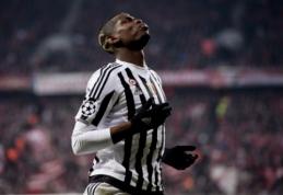 """""""Juventus"""" direktorius paneigė gandus, kad P. Pogba kelsis į PSG"""