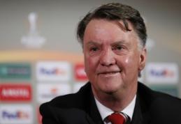 "L. van Gaalas prieš dvikovą su ""Liverpool"": reikalui esant galime pelnyti ir keturis įvarčius"