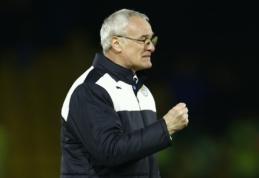 """C. Ranieri: tikiuosi, kad """"Leicester"""" bus paskutinis mano klubas"""