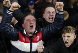 PSV fanai Madride sugalvojo gėdingą pramogą (VIDEO)