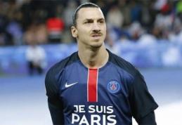 """""""Man Utd"""" rimtai susidomėjo Z.Ibrahimovičiumi"""