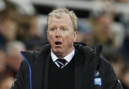 """Oficialu: """"Newcastle"""" iš trenerių pareigų atleido S. McClareną"""