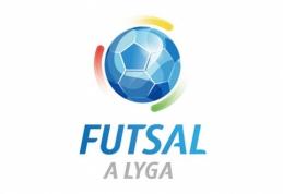 Futsal A lyga: Kauno derbyje žaidimas vyko į vienus vartus
