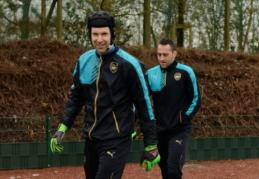 """P. Čechas: Ospina gali sulaikyti """"Tottenham"""""""