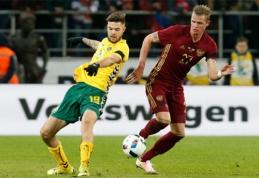 L.Spalvis sulaukė Lietuvos futbolui nebūdingo įvertinimo (FOTO)