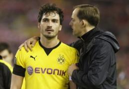 """""""Borussia"""" patvirtino, kad M. Hummelsas išreiškė norą prisijungti prie """"Bayern"""""""