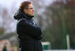 V. Dambrauskas po patekimo į LFF taurės finalą: tai yra reikšmingas pasiekimas