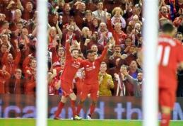 """Liverpulio derbyje - triuškinanti """"Liverpool"""" pergalė, """"Man Utd"""" ir """"West Ham"""" įveikė savo varžovus (VIDEO)"""