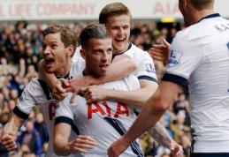 """""""Tottenham"""" gynybos ramstis pasiekė puikų rezultatą"""