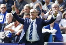 C. Ranieri po lygiųjų neliūdėjo: džiaugiuosi, ką ši komanda padarė