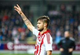 """L. Spalvis neišgelbėjo """"Aalborg"""" nuo pralaimėjo Danijos taurėje"""