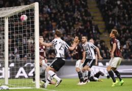 """""""Milan"""" namie krito prieš """"Juventus"""", """"Inter"""" palaužė """"Frosinone"""" (VIDEO)"""